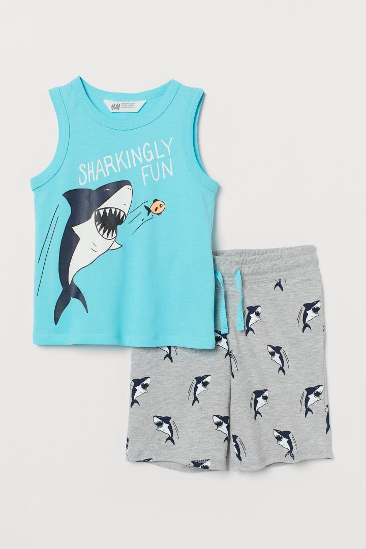 Отзыв на Майка-топ и шорты из Интернет-Магазина H&M