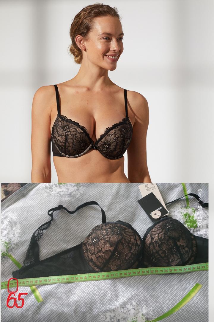 Отзыв на Супер бюстгальтер пуш-ап из кружева из Интернет-Магазина H&M