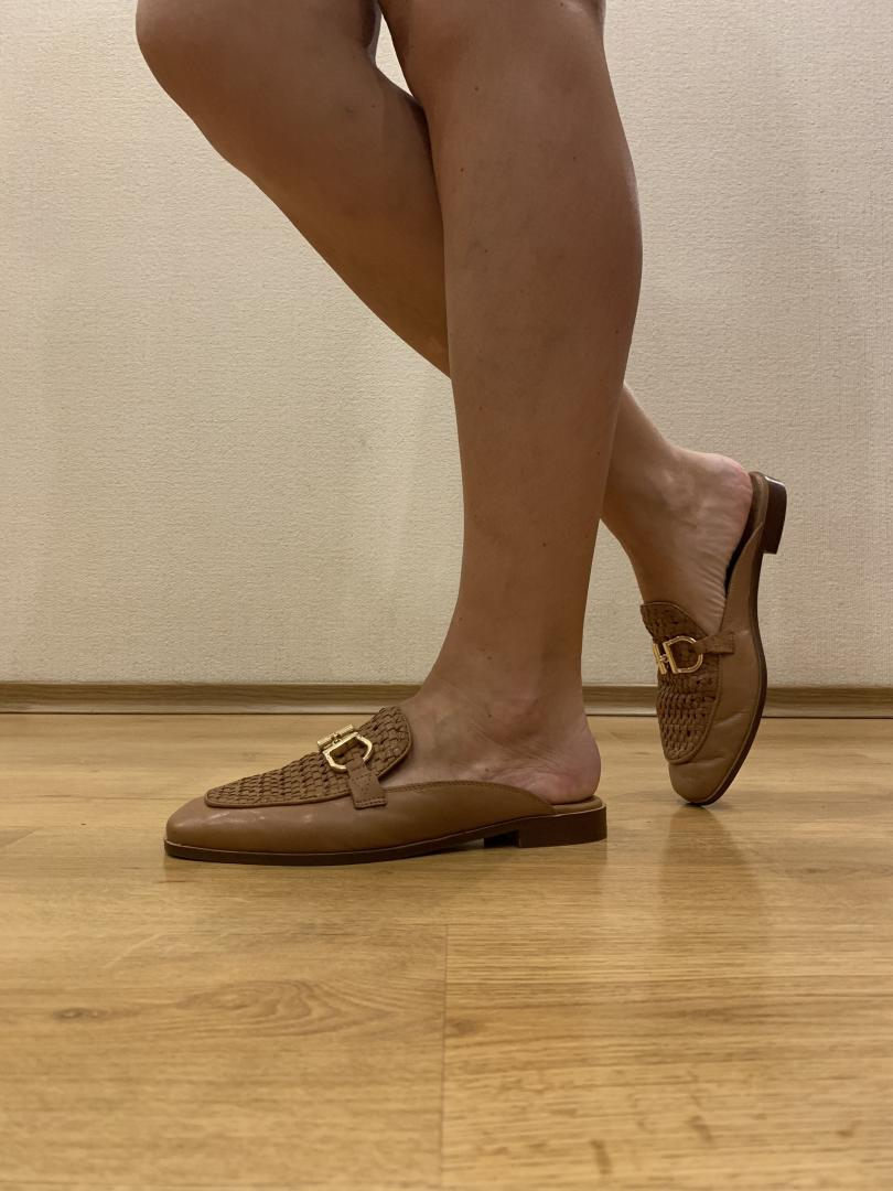 Отзыв на Светло-коричневые балетки с кожи из Интернет-Магазина Riverisland.de