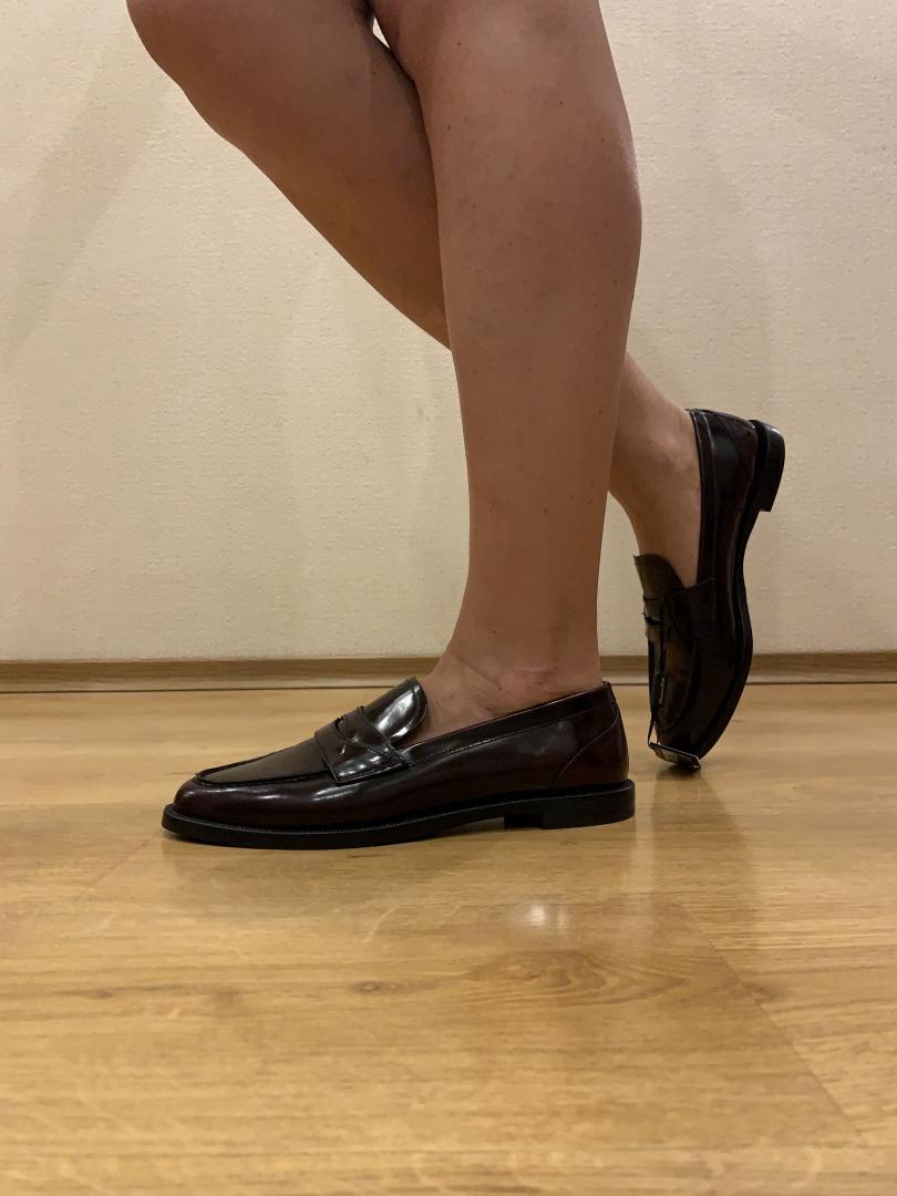 Отзыв на Туфли бордовые из Интернет-Магазина Massimo Dutti