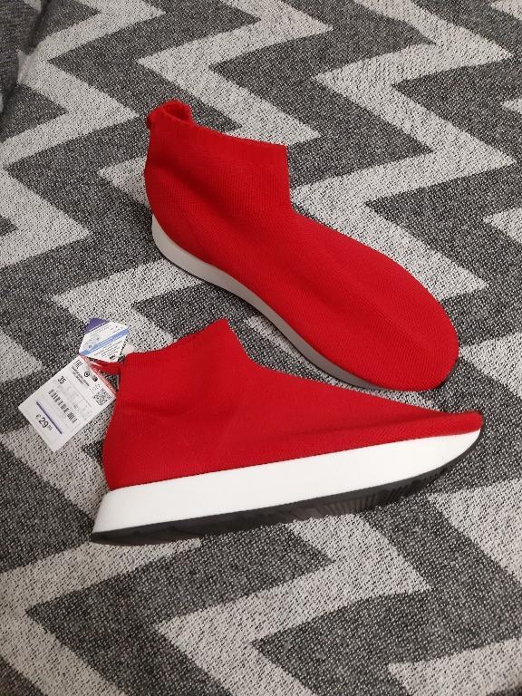 Отзыв на ВЫСОКИЙ сникерсы с БОЧКЕ из Интернет-Магазина Zara
