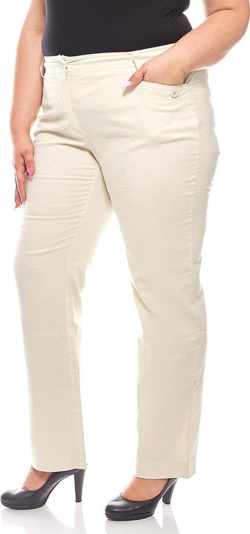 Отзыв на Sheego повседневная для женщин льняные брюки Большой Размеры Бежевый из Интернет-Магазина Outlet46