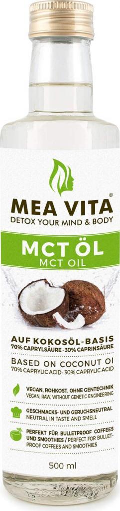 Отзыв на MeaVita MCT Öl, Premium Qualität (2 x 500 ml) из Интернет-Магазина Amazon