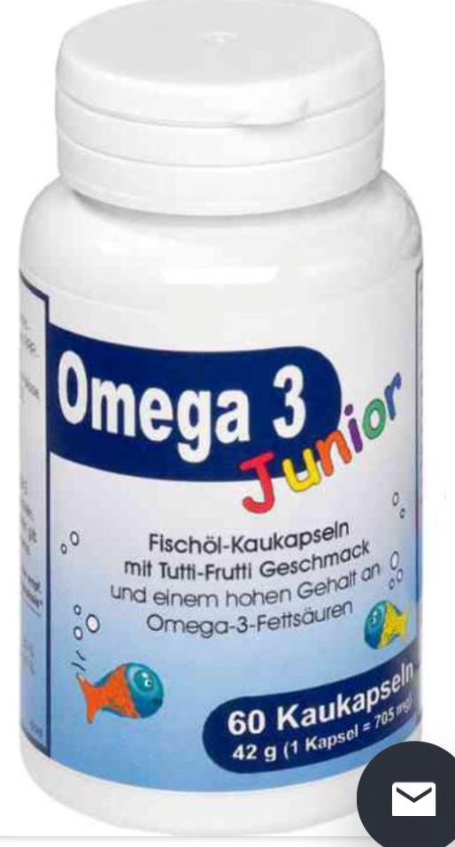 Отзыв на Омега-3 для подростка Берко Kaukapseln 60 Ст из Интернет-Магазина Meine-onlineapo