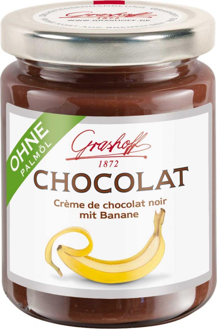 Отзыв на Grashoff Чоколат Крем от чоколат черный с Банан 250г из Интернет-Магазина World of Sweets