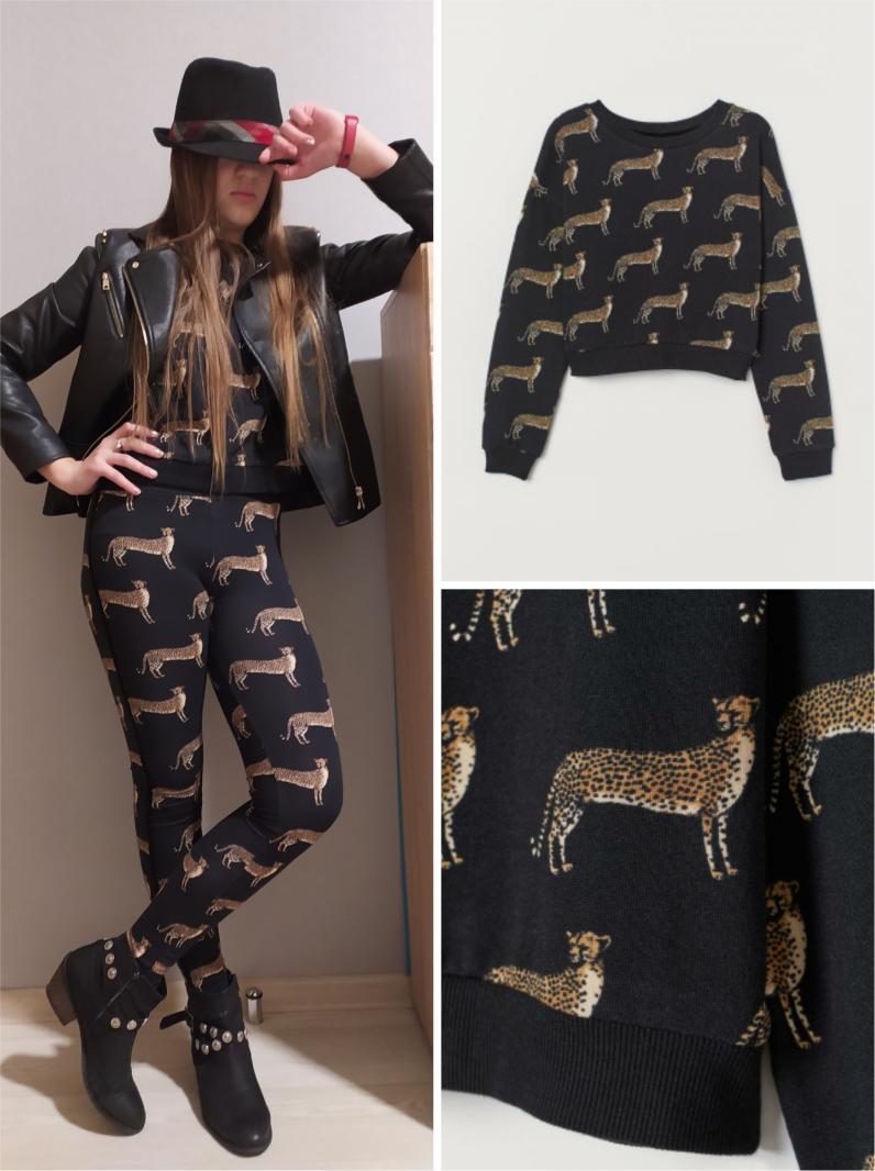 Отзыв на С пестрым рисунком свитер из Интернет-Магазина H&M