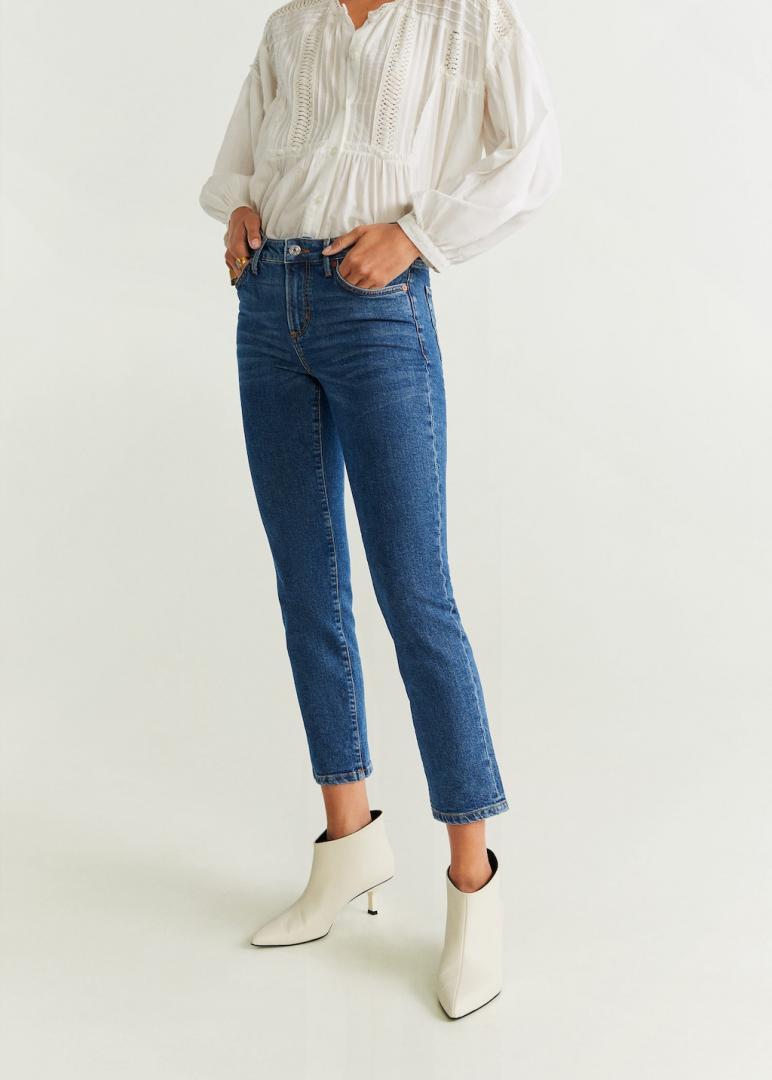 Отзыв на Зауженные джинсы в Укороченные-Длина из Интернет-Магазина MANGO