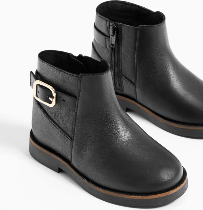 Отзыв на Кожаные сапоги с ПРЯЖКА из Интернет-Магазина Zara