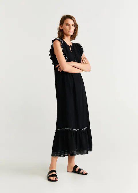 Отзыв на Длинное платье с Змеи из Интернет-Магазина MANGO