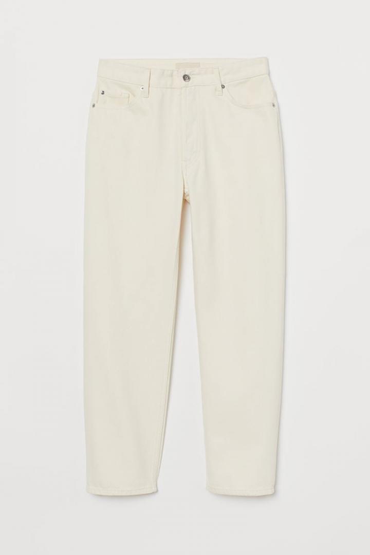 Отзыв на Ровные джинсы длиной по щиколотку из Интернет-Магазина H&M