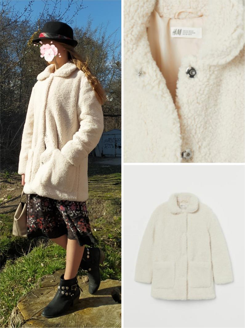 Отзыв на Пальто с теддифлис из Интернет-Магазина H&M