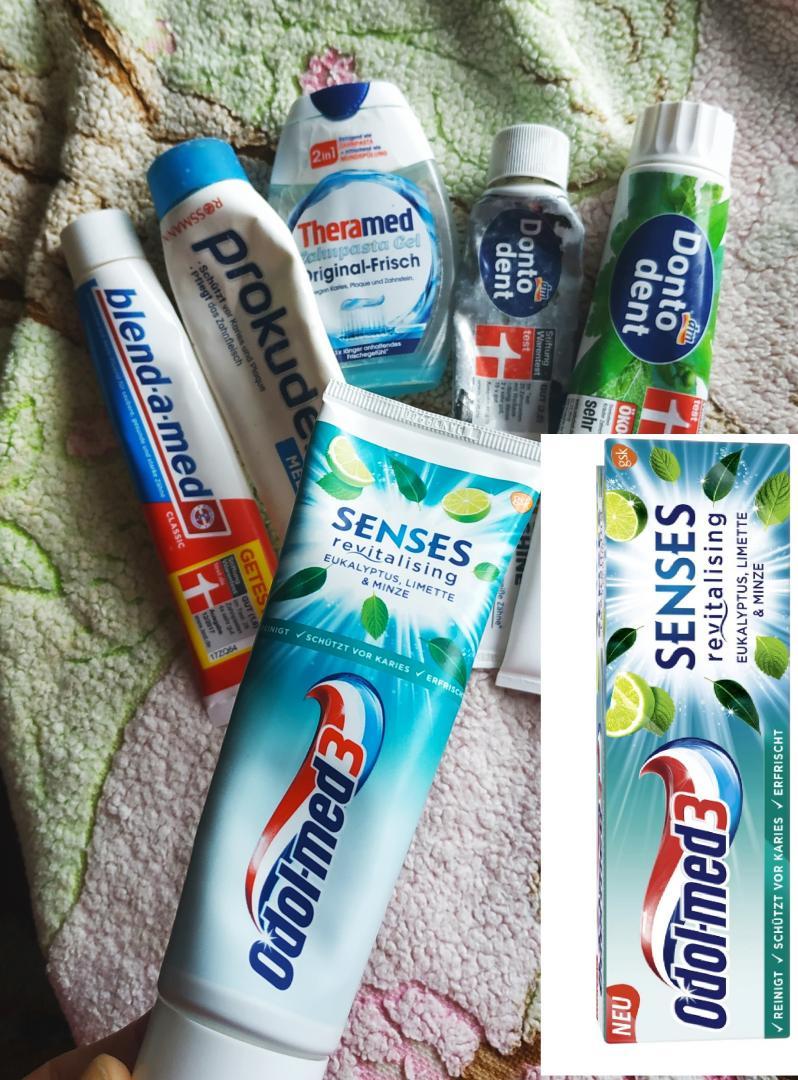 Отзыв на Odol med3 Чувства восстанавливающий Эвкалипт зубная паста из Интернет-Магазина ROSSMANN