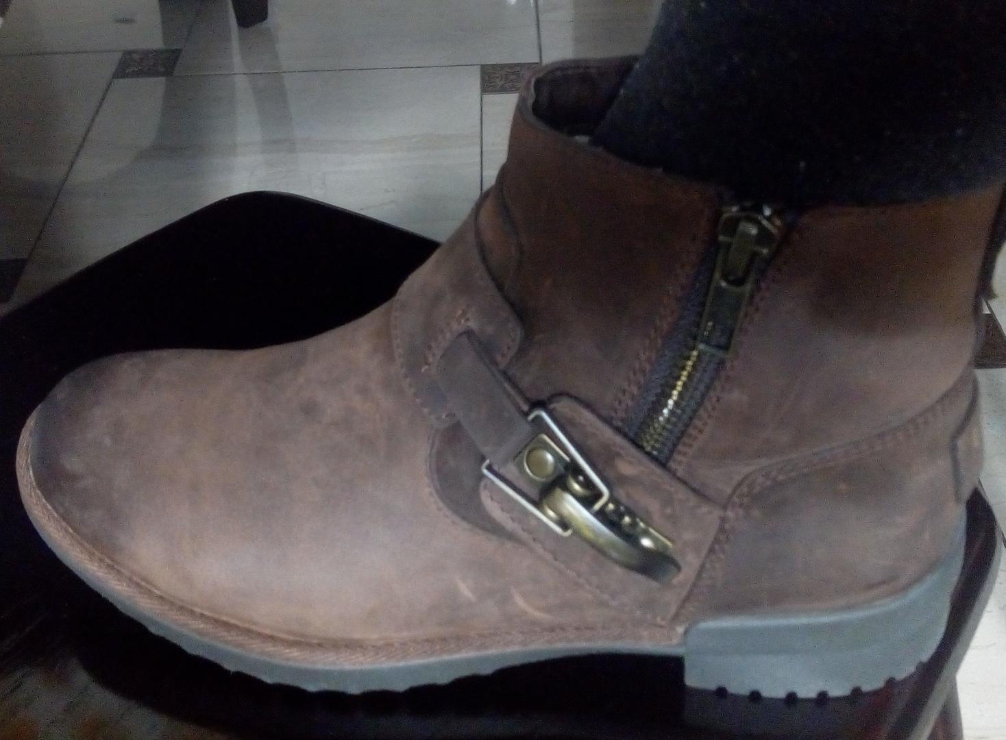 Отзыв на UGG Leder-Ankle-Boots