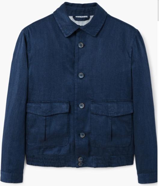 Отзыв на Льняной пиджак с карманами из Интернет-Магазина MANGO Outlet