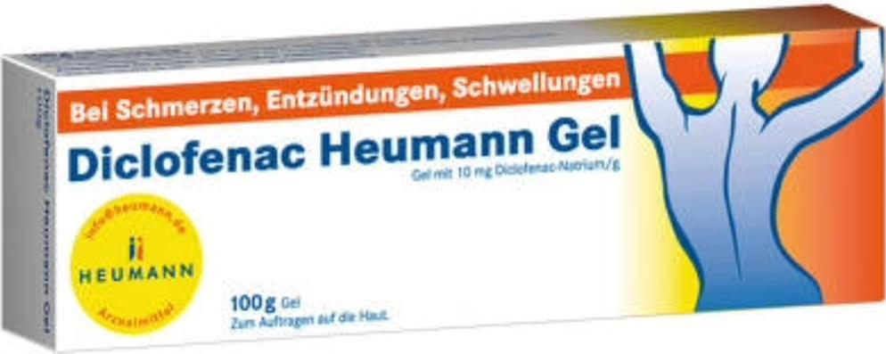 Отзыв на DICLOFENAC Heumann Gel 100 g из Интернет-Магазина Pharmeo