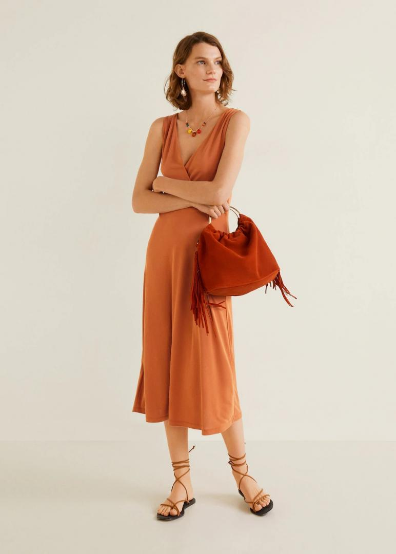 Отзыв на Midi-Платье с Модал из Интернет-Магазина MANGO