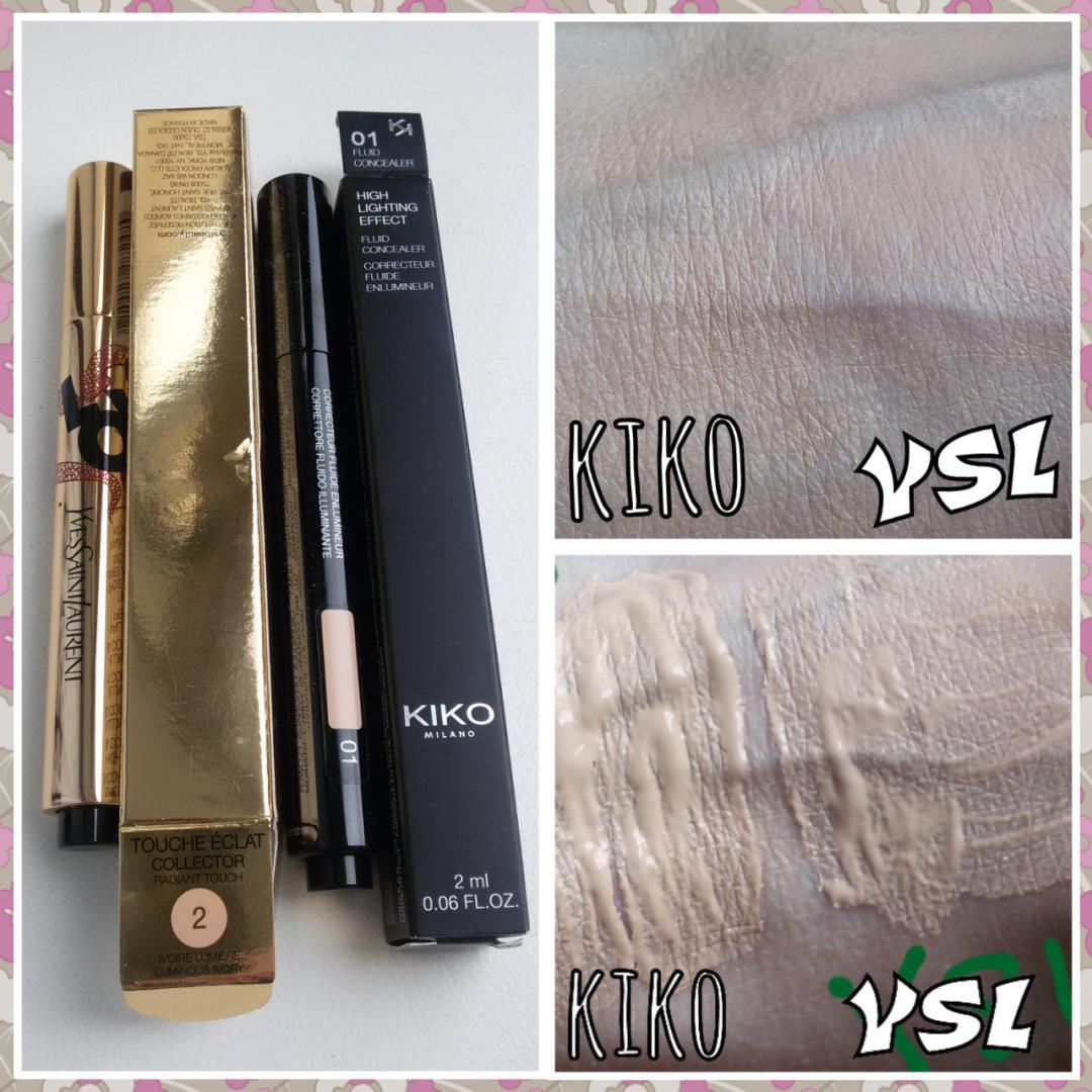 Отзыв на highlighting effect fluid concealer 01 из Интернет-Магазина Kikocosmetics