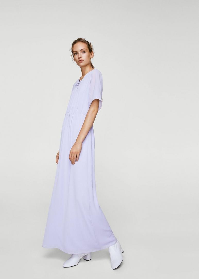 Отзыв на Длинное платье в Пеленальный стиле из Интернет-Магазина MANGO Outlet