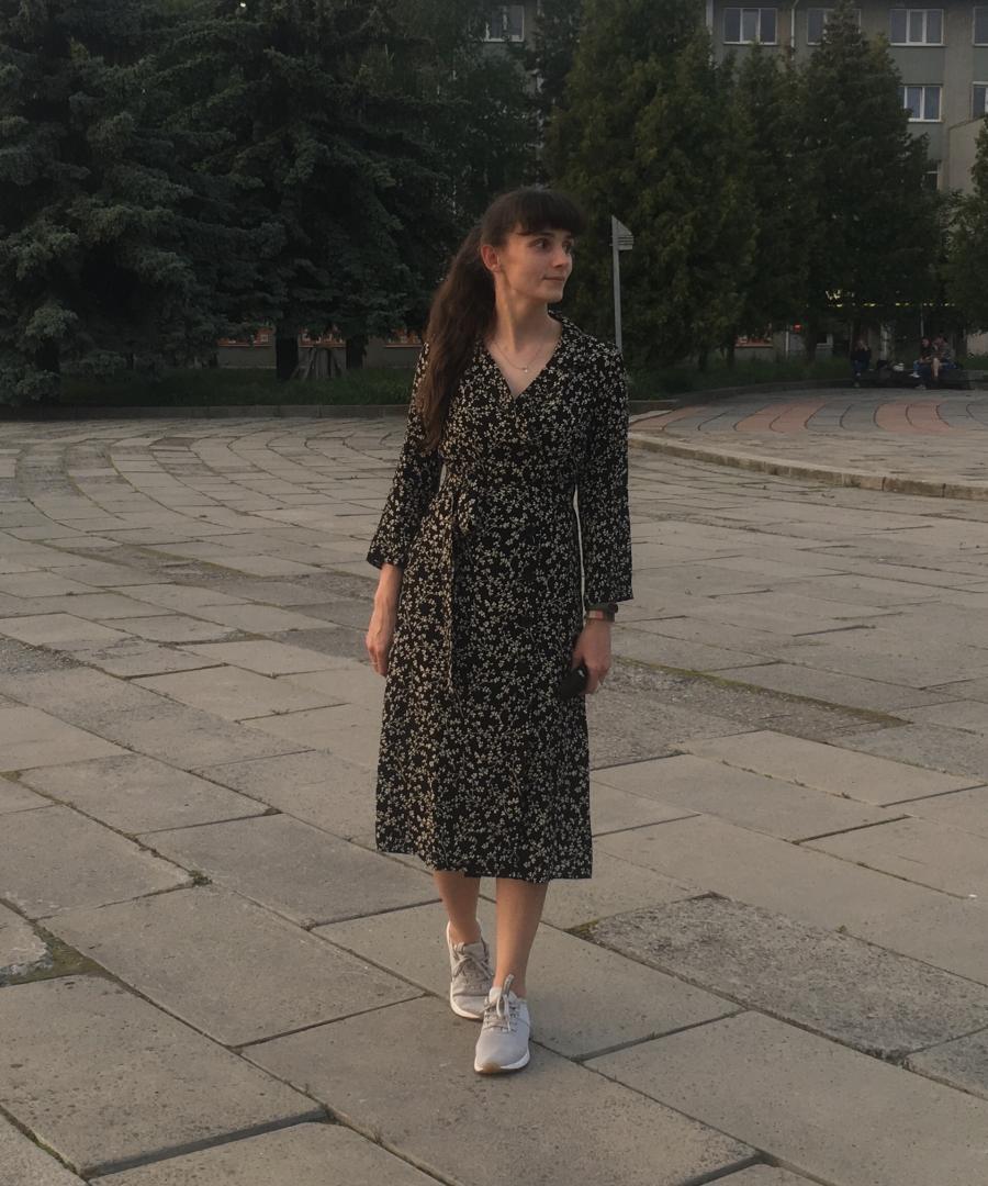 Отзыв на Платье с цветочным Рисунок из Интернет-Магазина MANGO Outlet