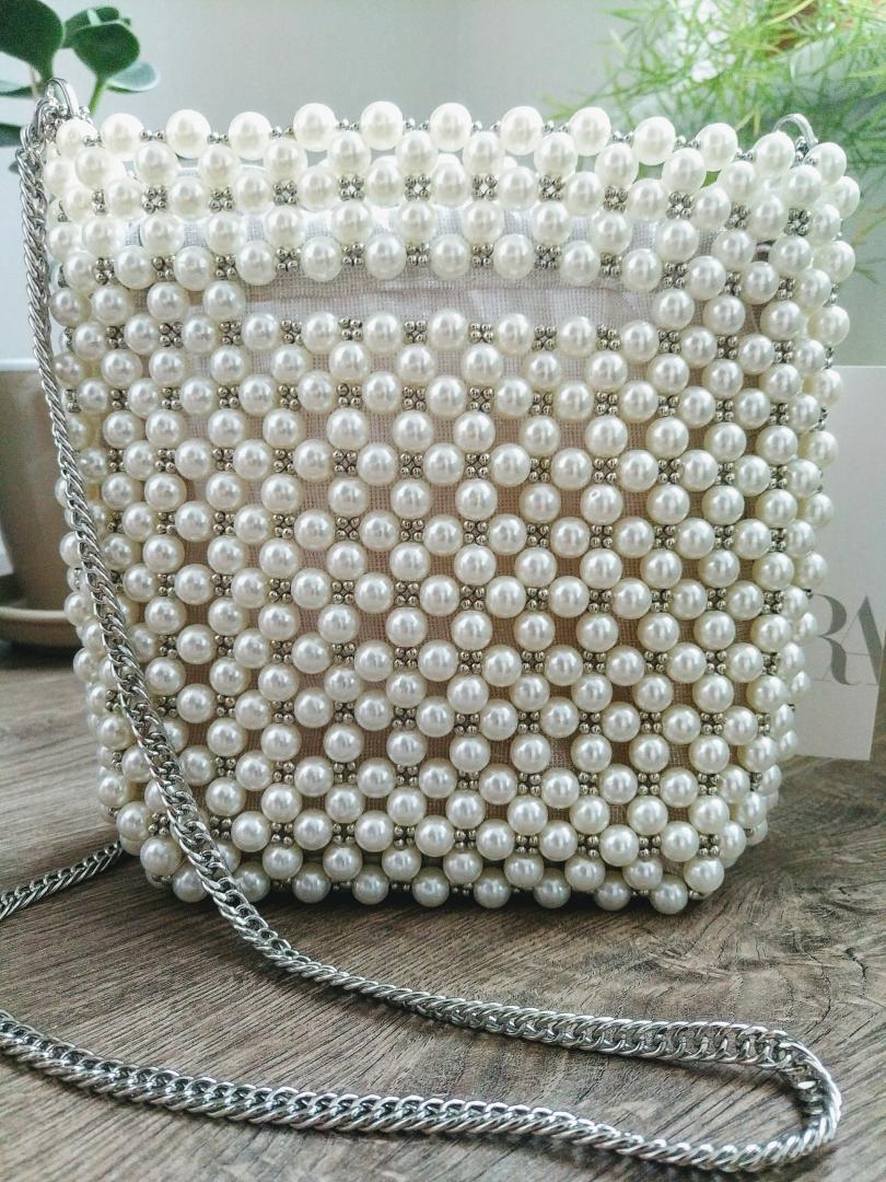 Отзыв на МАЛЕНЬКИЕ Мешок мешок с Ювелирные изделия бусины из Интернет-Магазина Zara