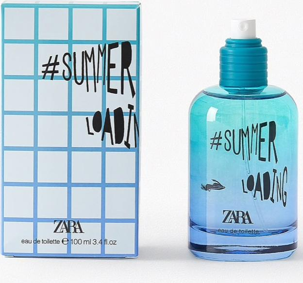 Отзыв на ZARA SUMMER LOADING 100 ML из Интернет-Магазина Zara