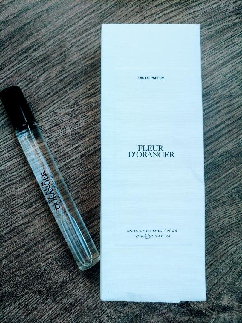 Отзыв на FLEUR D'ORANGER 10 ML из Интернет-Магазина Zara