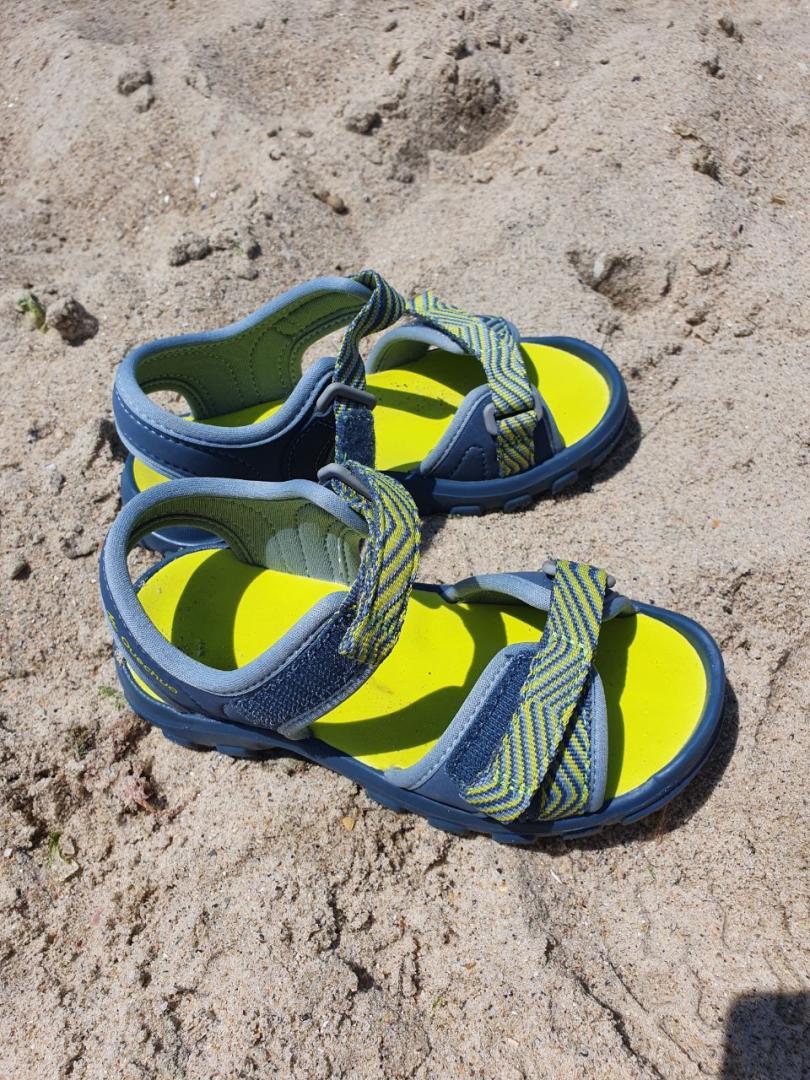 Отзыв на Сандалии Пешие прогулки MH100 для мальчика малыша Гр. 24–31 синий/желтый из Интернет-Магазина Decathlon