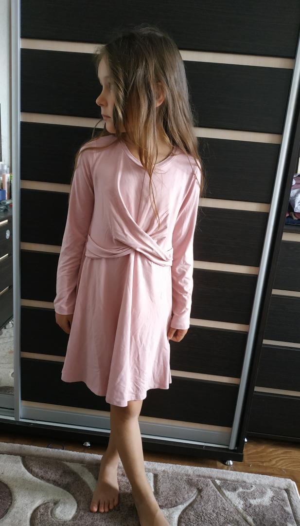 Отзыв на Платье трикотажное с Knotendetail из Интернет-Магазина H&M