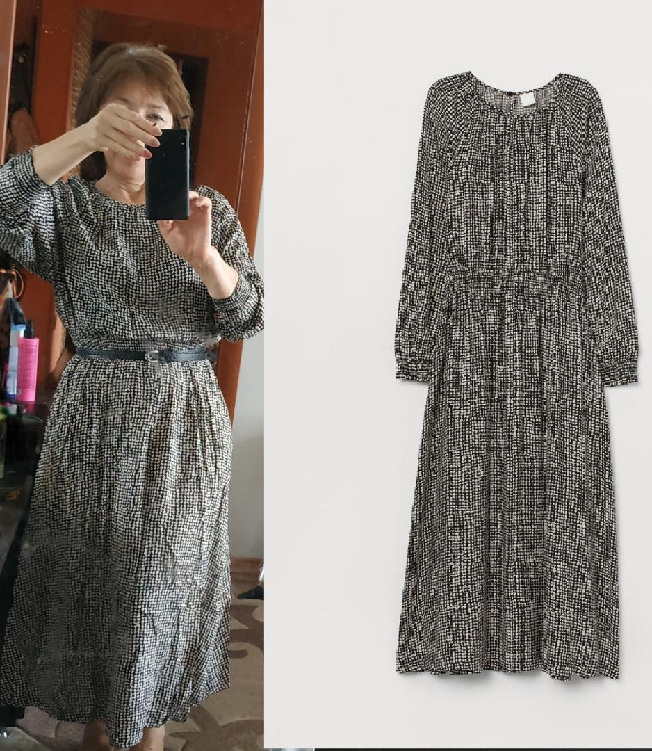 Отзыв на Gesmoktes Платье из Интернет-Магазина H&M