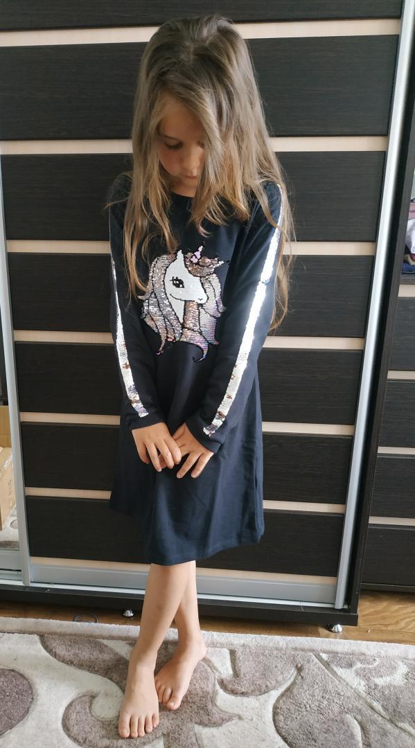 Отзыв на Платье с блестками из Интернет-Магазина H&M