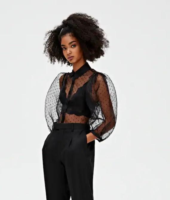 Отзыв на Рубашка с Горошек и Блуза из Интернет-Магазина PULLANDBEAR