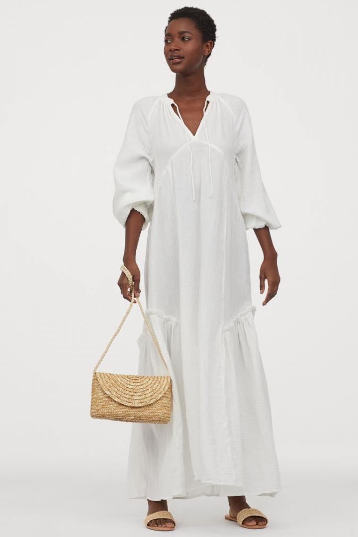 Отзыв на Кафтан платье с хлопка из Интернет-Магазина H&M
