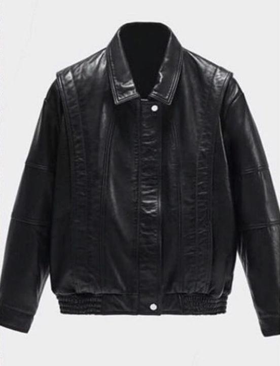 Отзыв на VINTAGE-LEDERJACKE IM 80ER-STIL из Интернет-Магазина Zara