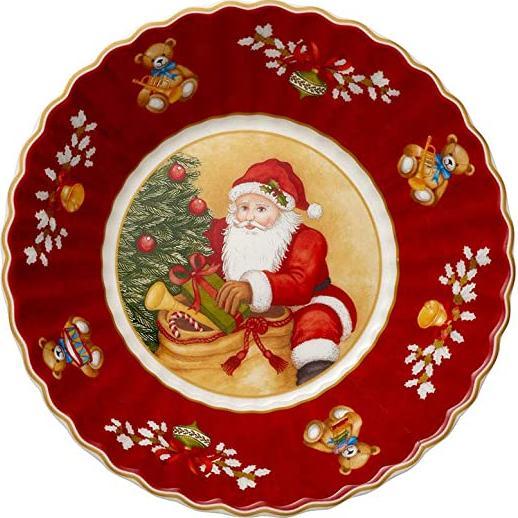 Отзыв на Villeroy & Boch Schale klein, Santa bringt Geschenke Toy's Fantasy из Интернет-Магазина GALERIA