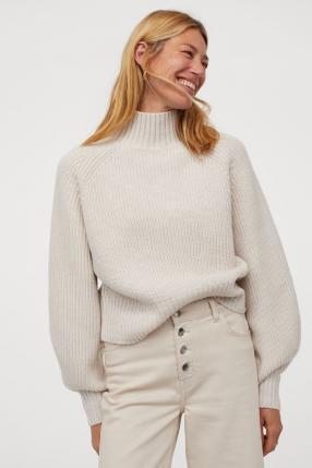 Отзыв на Полосатый пуловер шерстяные из Интернет-Магазина H&M