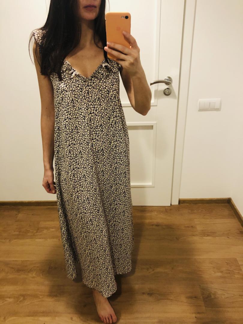 Отзыв на Платье с оборкой из Интернет-Магазина H&M