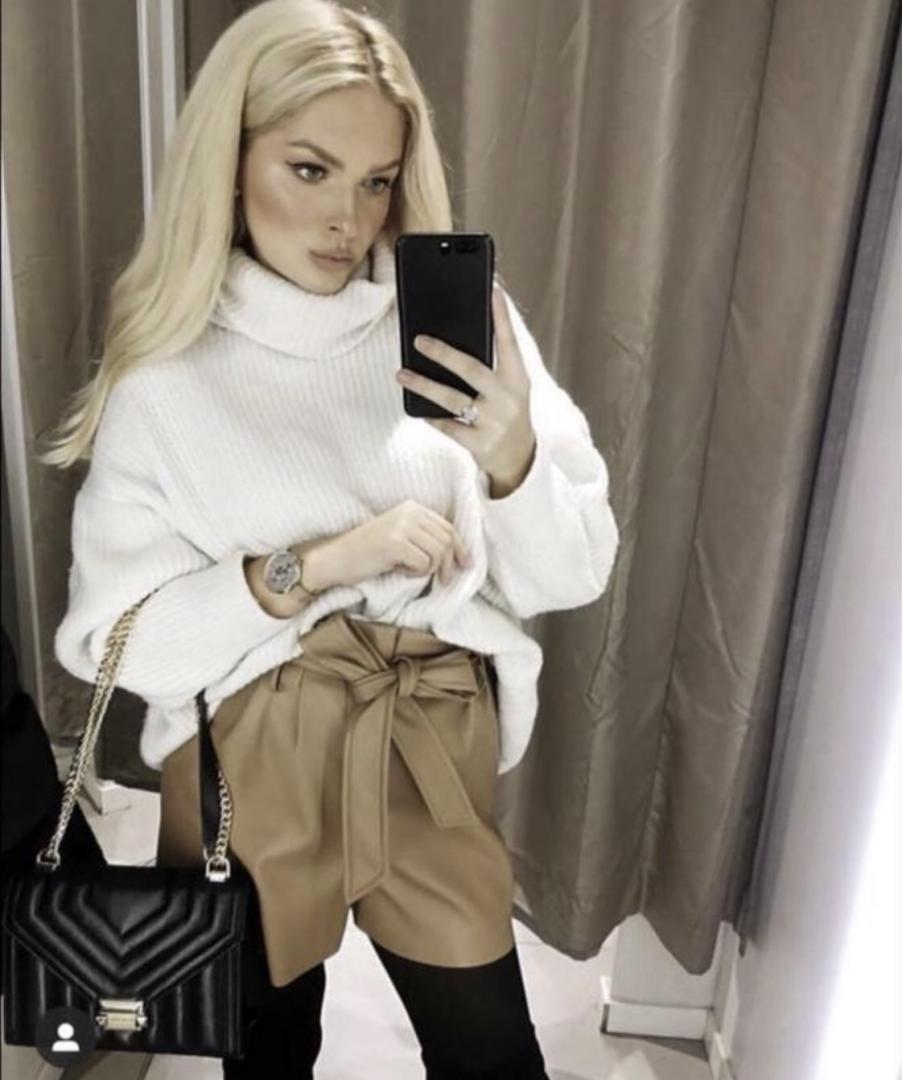 Отзыв на Из искусственной кожи из Интернет-Магазина Zara