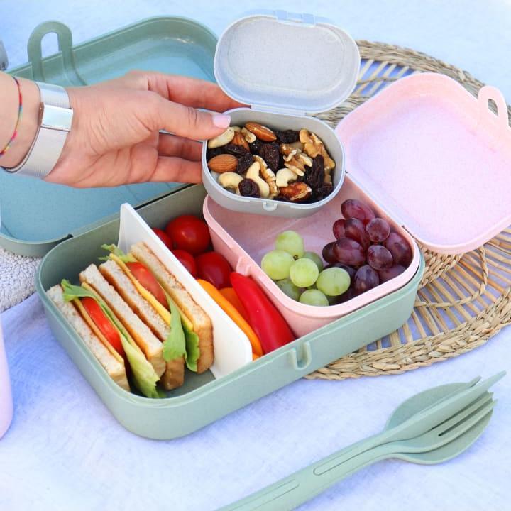 Отзыв на Koziol ORGANIC PASCAL MINI - Lunchbox in organic green из Интернет-Магазина LIMANGO