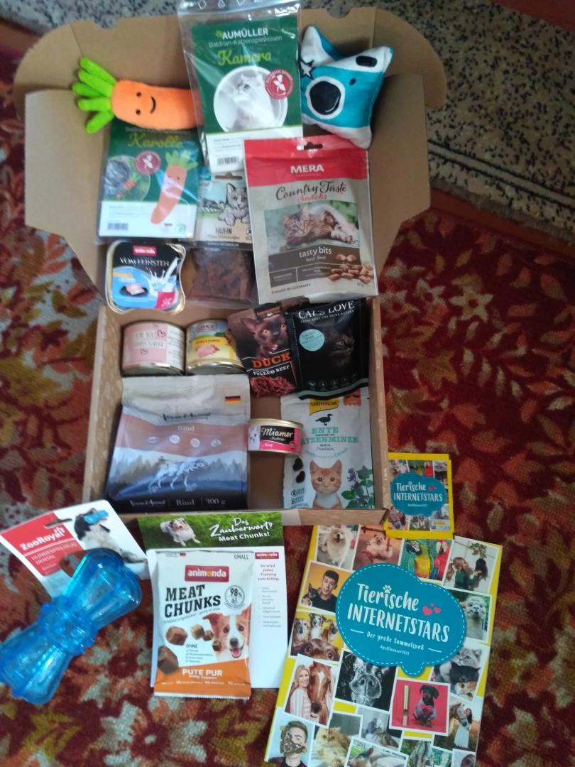 Отзыв на пасхальный сундук с сокровищами плюс подарки магазина из Интернет-Магазина Zooroyal