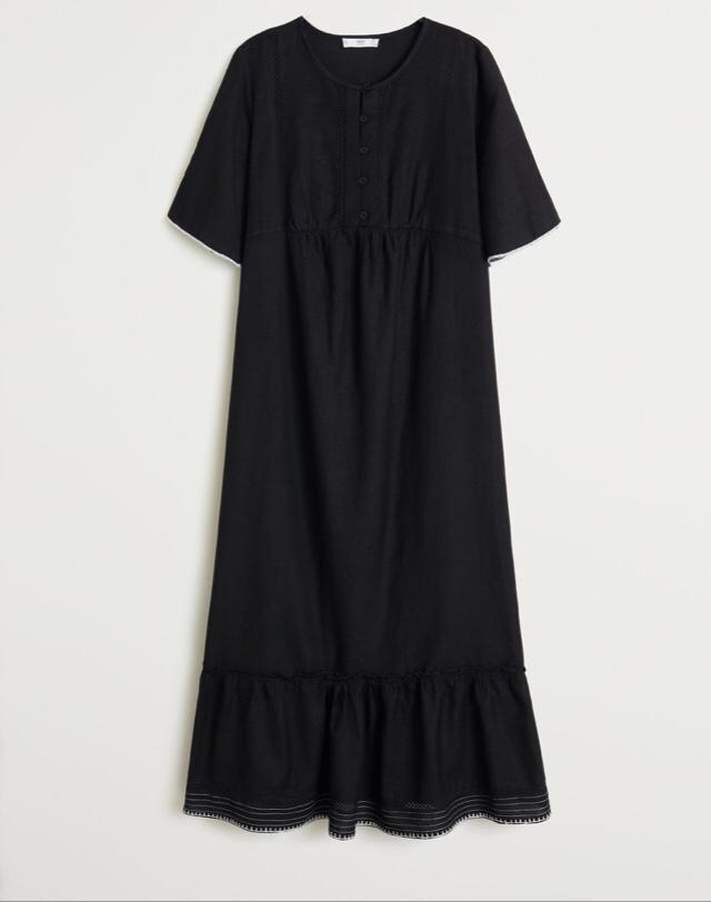 Отзыв на Хлопковое платье,S из Интернет-Магазина MANGO Outlet