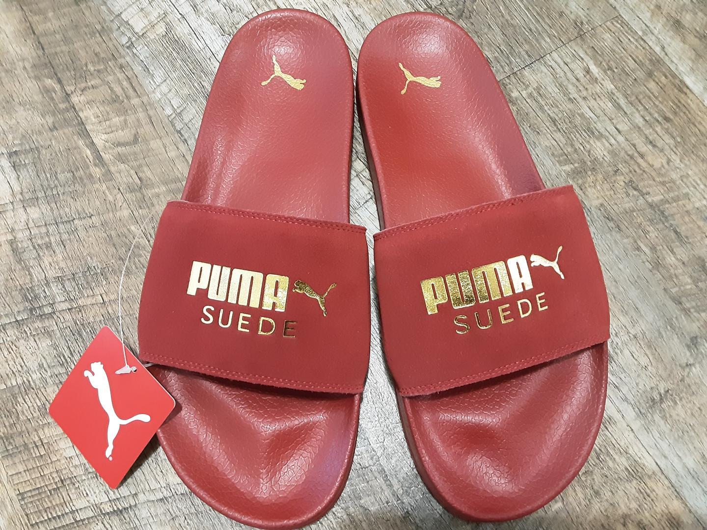 Отзыв на Puma Leder-Pantoletten