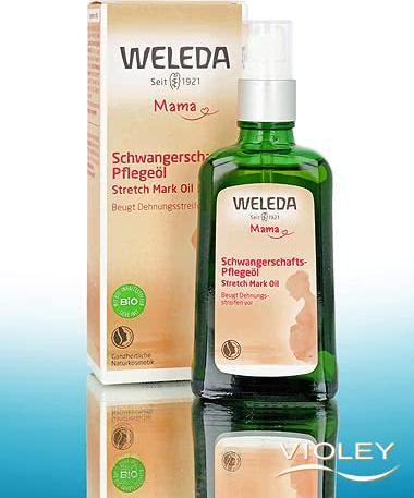Отзыв на Weleda Mama Schwangerschafts-Pflegeöl из Интернет-Магазина Violey