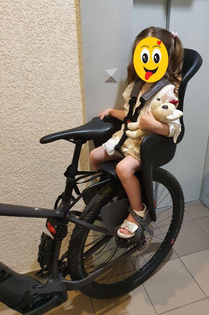 Отзыв на POLISPORT Bilby Fahrrad-Kindersitz из Интернет-Магазина SATURN