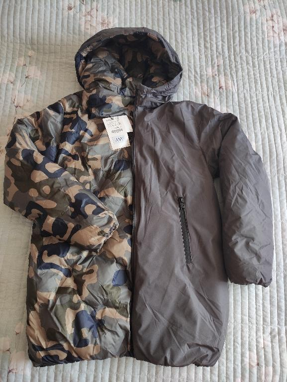 Отзыв на Длинные двухсторонняя куртка из Интернет-Магазина Zara
