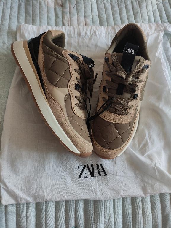 Отзыв на Сникерсы с  с из Интернет-Магазина Zara