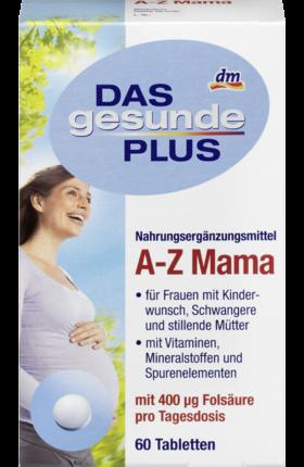 Отзыв на DAS gesunde PLUS A-Z Мама, 60 St из Интернет-Магазина DM