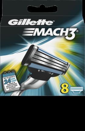 Отзыв на Gillette Mach3 Бритвенные лезвия, 8 St из Интернет-Магазина DM