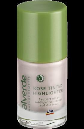 Отзыв на Alverde Натуральная косметика Роза Tinted Highlighter, 10 мл из Интернет-Магазина DM