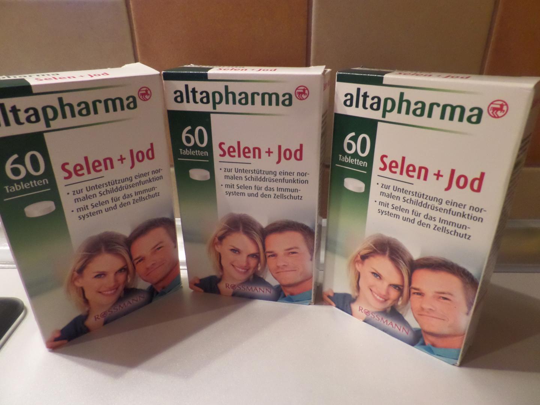 Отзыв на Altapharma Селен  Йод из Интернет-Магазина ROSSMANN