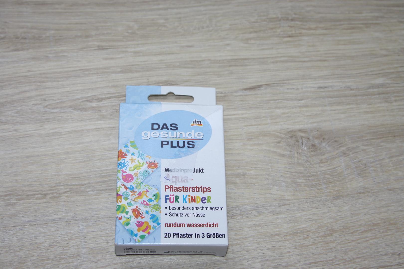 Отзыв на DAS gesunde PLUS Aqua-Пластырь Trips для Теплый'Y 20 St Медицинское изделие из Интернет-Магазина DM